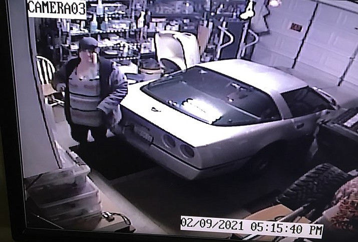 The Kingman Police Department needs help identifying these three suspects from a recent residential burglary. (Kingman Police Department photo)