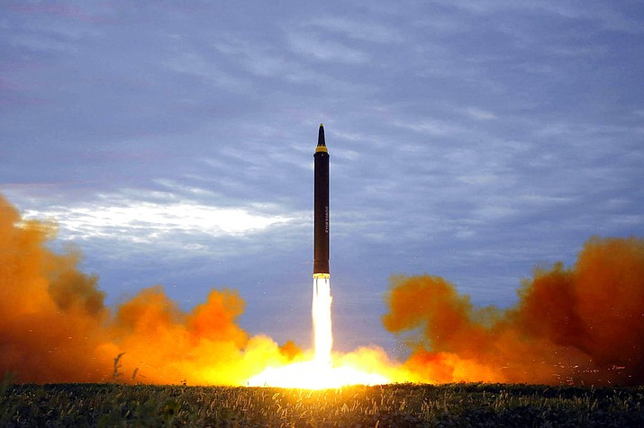 """Japanese Prime Minister Yoshihide Suga said North Korea's resumption of ballistic testing threatens """"peace and safety in Japan and the region,"""" and that Tokyo will closely coordinate with Washington and Seoul on the North's military activities. (Korean News Service file photo)"""