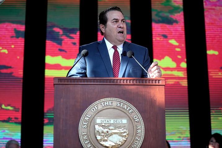 Arizona Attorney General Mark Brnovich on Thursday sued the U.S. Treasury Department over a provision in President Joe Biden's massive coronavirus relief law (Photo by Gage Skidmore, cc-by-sa-2.0, https://bit.ly/3bHpKNF)