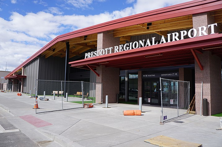 The new Prescott Regional Airport passenger terminal was opened to the public on Tuesday, March 30, 2021. (Cindy Barks/Courier file)