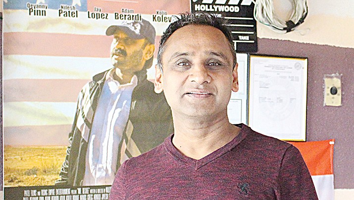Ring of Desire, a movie partially filmed in Hualapai Mountain Park, will premiere on Monday, April 5 in Las Vegas. Neel Esh Patel of Patel Films, a local film producer who produced the movie, is shown in this file photo. (Miner file photo)