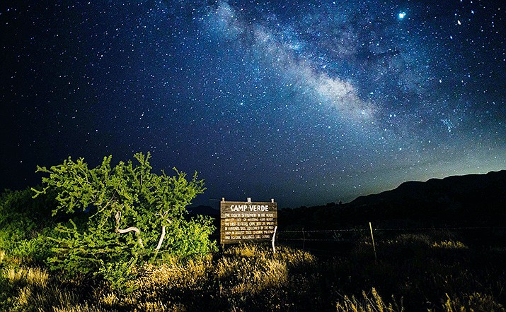 The Camp Verde Dark Sky Community will host a multi-venue star party on June 11. Although locations are still being secured for the event, Vice President Wendy Escoffier said Monday that the Camp Verde Library and Tuzigoot National Monument will participate. Photo courtesy Steve Amaon