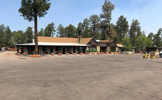 The Jacob Lake and North Rim communities were evacuated during the Mangum Fire.
