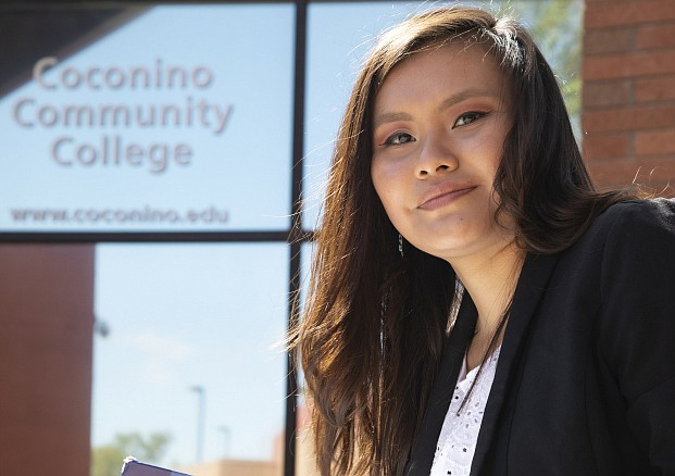 Coconino Community College has more than $500,000 in federal COVID relief funds to distribute to students who qualify. (Photo/CCC)