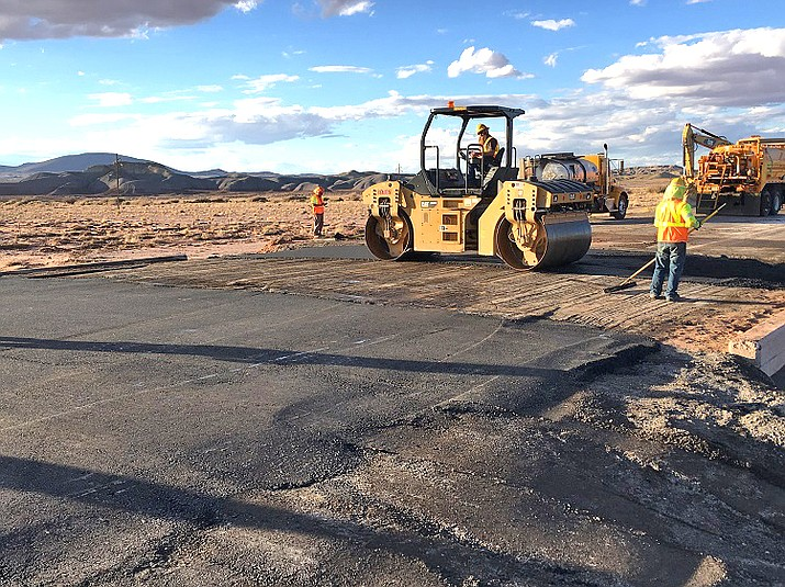 ADOT completes 48-hour emergency repairs on U.S. 89 after heavy rains wahsed out part of the road in October 2018. (Photo/ADOT)