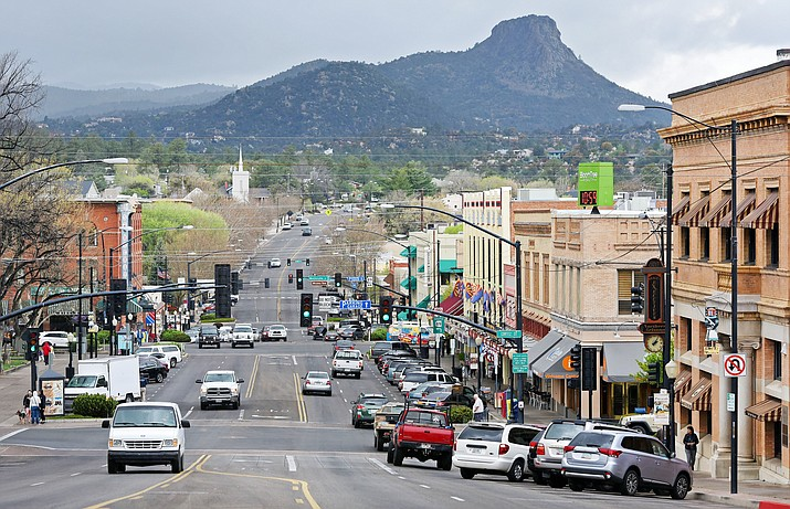 """About a year after proclaiming a COVID-19 emergency in Prescott, Mayor Greg Mengarelli has rescinded the proclamation for the city as of Tuesday, March 30, 2021. The mayor made the decision based on """"declining case counts, ongoing mass vaccination efforts, and recent executive orders by the governor."""" (Courier file photo)"""