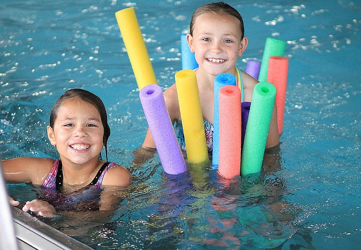 Children enjoy a day of swimming at the Williams Aquatic Center in 2019.  (Wendy Howell/WGCN)