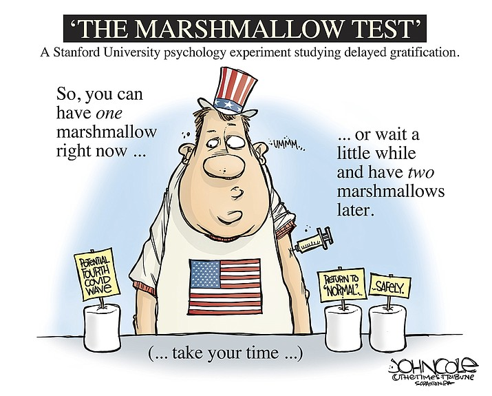 Editorial cartoon (1): April 1, 2021