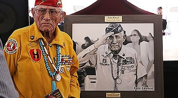 Arizona declares new state holiday to honor Navajo Code Talkers photo