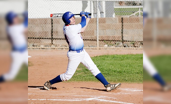 Camp Verde's Trey Battise is hitting .562 through the team's first five games. Monday, the sophomore had three hits in the Cowboys' 5-4 home win against Payson. The sophomore infielder/pitcher has also been hit by pitches seven times for Camp Verde. VVN/Bill Helm