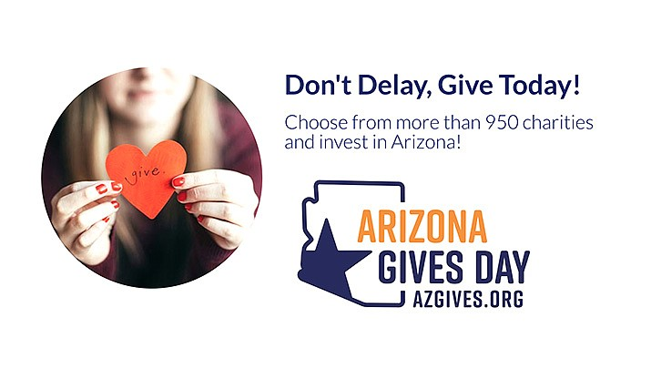 Local nonprofits are participating in Arizona Gives Day on Tuesday, April 6, 2021, an annual 24-hour online giving campaign. Visit the giving website AZGives.org. All nonprofit organizations are verified for eligibility before being allowed to participate, ensuring that donors are giving to legitimate organizations. (Courier file photo)