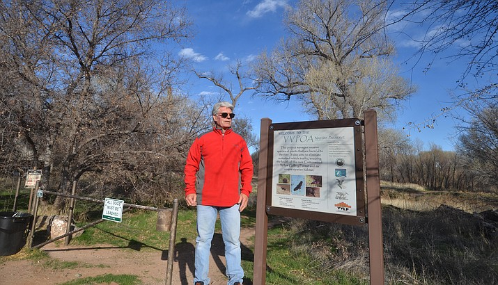 Dennis Kuhn have been working to clean up the VVPOA trail for the past few  years. VVN/Vyto Starinskas