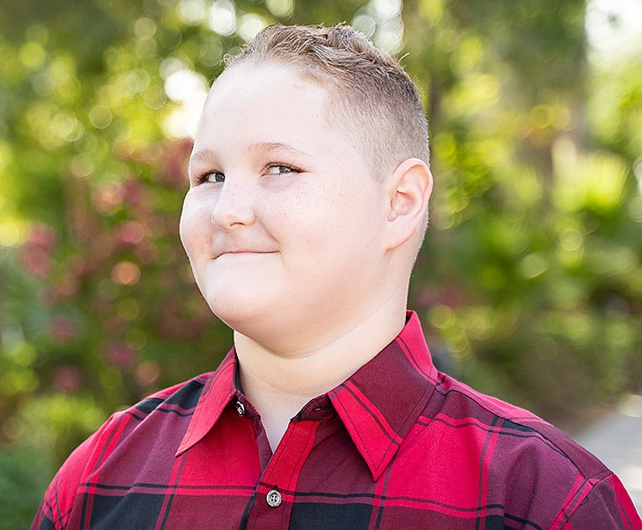 Get to know Dylan at https://www.childrensheartgallery.org/profile/dylan-j and other adoptable children at childrensheartgallery.org. (Arizona Department of Child Safety)