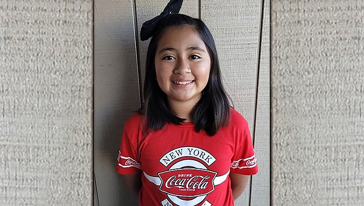 Zarai Camacho of Del Rio School is the Chino Valley Unified School District Student of the week for April 8, 2021. (CVUSD)