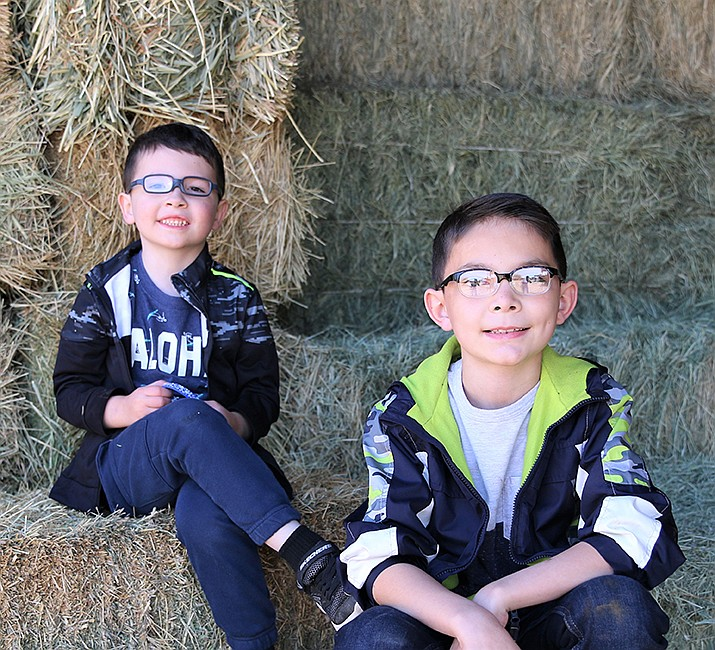 Get to know Jacob and Rylin at https://www.childrensheartgallery.org/profile/jacob-and-rylin and other adoptable children at childrensheartgallery.org. (Arizona Department of Child Safety)