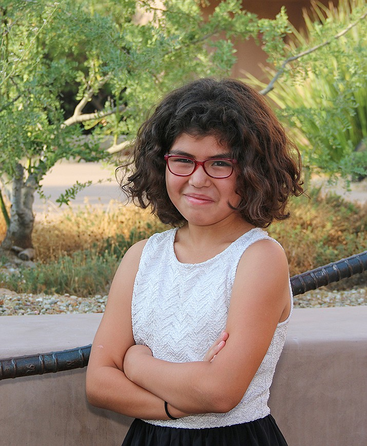 Get to know Ahdrina at https://www.childrensheartgallery.org/profile/ahdrina and other adoptable children at childrensheartgallery.org. (Arizona Department of Child Safety)