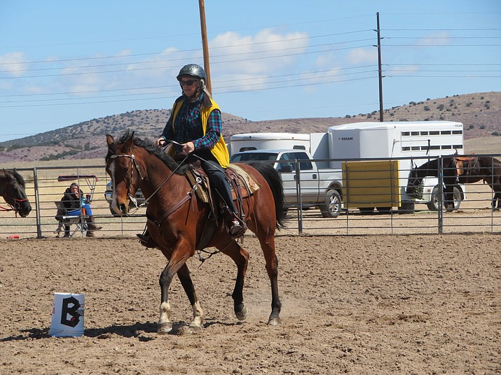 A rider enjoys some time at the Chino Valley Equestrian Park. (CVEP/Courtesy)