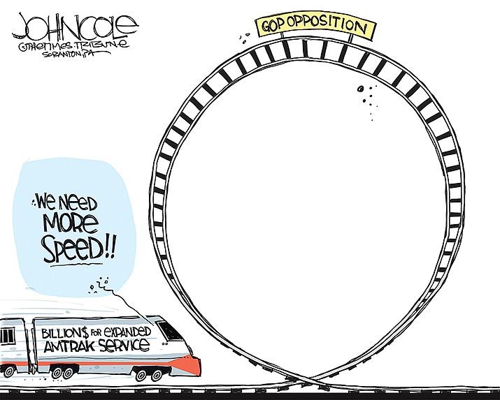 Editorial Cartoon | April 7, 2021