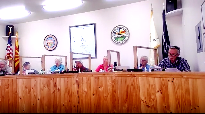 Three Dewey-Humboldt residents said they submitted their recall petitions in an effort to remove Vice Mayor Karen Brooks and Town Council members Amy Lance and Lynn Collins from their elected positions. (Courtesy)