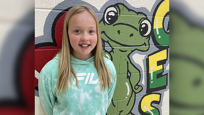 Shelby from Granville Elementary School is this week's Humboldt Unified School District Student of the Week. (HUSD)