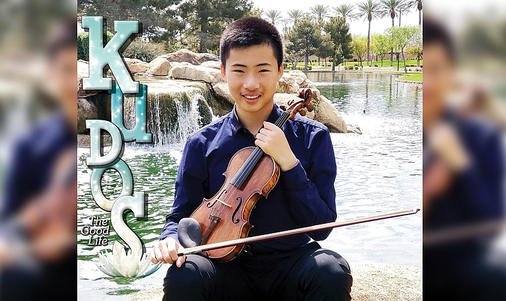 In the upcoming Emerging Artist concert, the Verde Valley Sinfonietta will feature Ethan Yang, a spectacular young violinist from Phoenix, as the soloist in the Tchaikovsky Violin Concerto.
