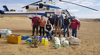 Group steps up to get supplies to Navajo veterans during pandemic photo