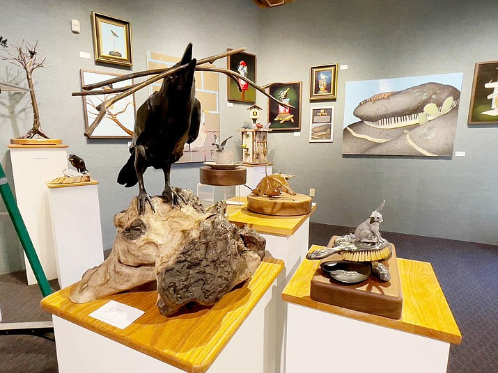 April's special exhibit at the Sedona Arts Center Fine Art Gallery will showcase new art by Bill Cramer, Cliff Finity, Byron McKeown, Deanne McKeown, and Lesley Aine McKeown.