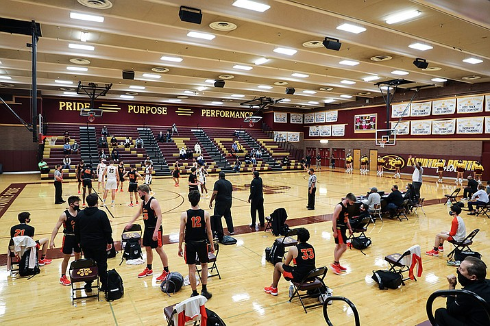 Many high schools turned to streaming sporting events during the COVID-19 era. (Alina Nelson/Cronkite News)