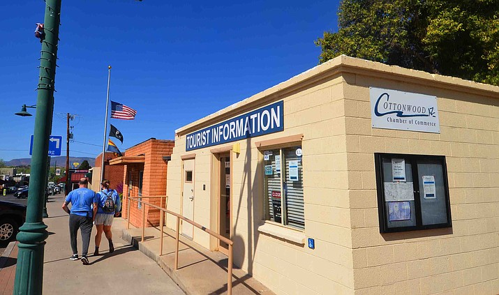A satellite visitor center of the Cottonwood Chamber of Commerce in Old Town opens Saturday with a ribbon-cutting. VVN/Vyto Starinskas