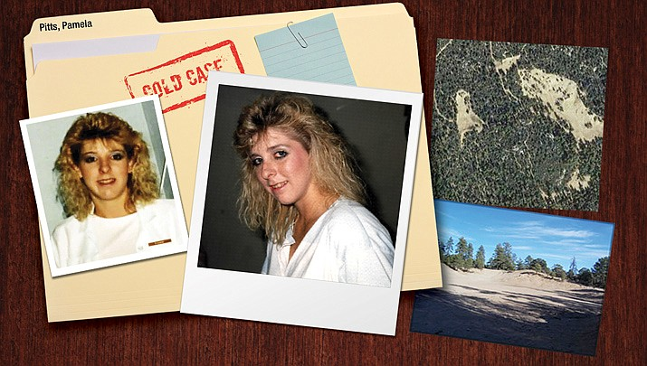 Photos of Pamela Pitts from 1988 and photos of Gordo's Pit, now called Alto Pit. (Courtesy photos)