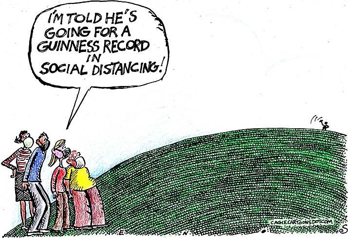 Editorial Cartoon   April 9, 2021