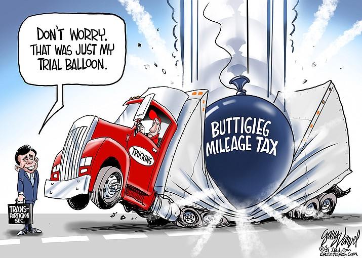 Editorial cartoon (1): April 9, 2021