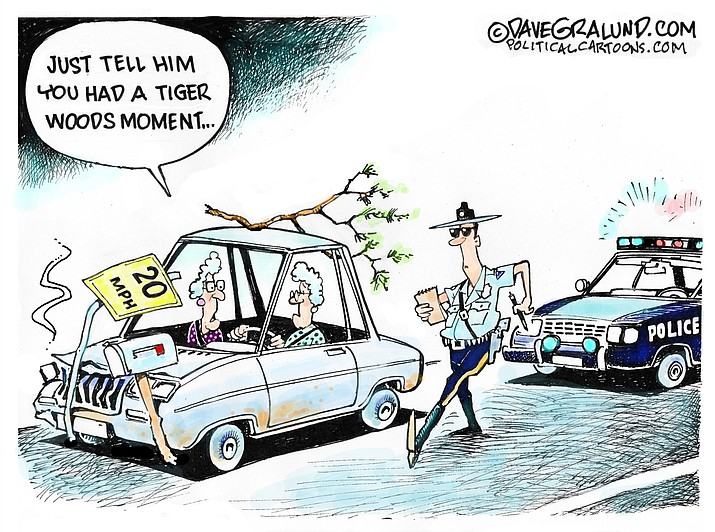 Editorial cartoon (2): April 11, 2021