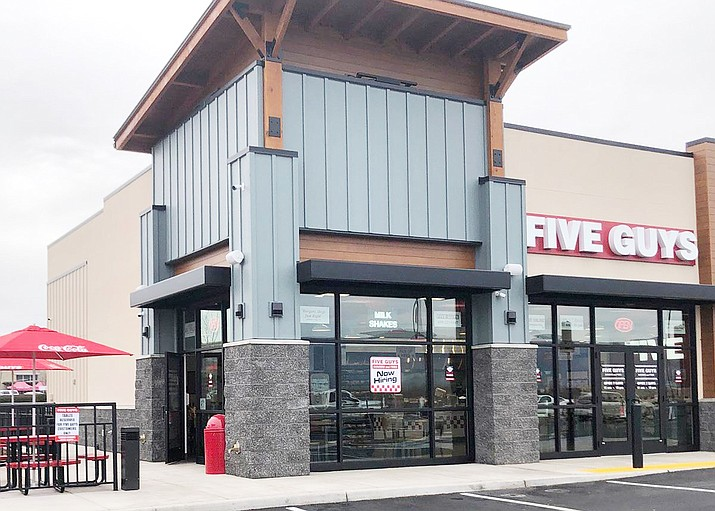A Five Guys burgers and fries restaurant. Prescott Valley Mayor Kell Palguta said Five Guys will break ground for its first restaurant in PV by this summer. (Five Guys/Courtesy)