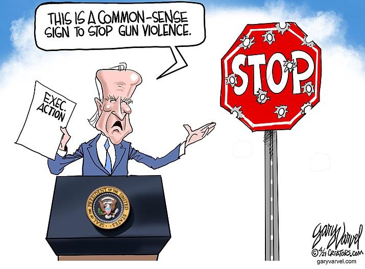 Editorial cartoon (1): April 11, 2021