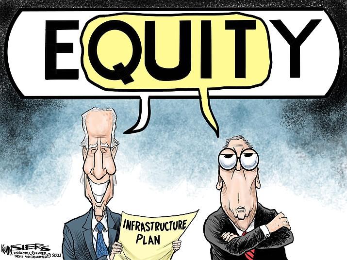 Editorial cartoon (1): April 13, 2021