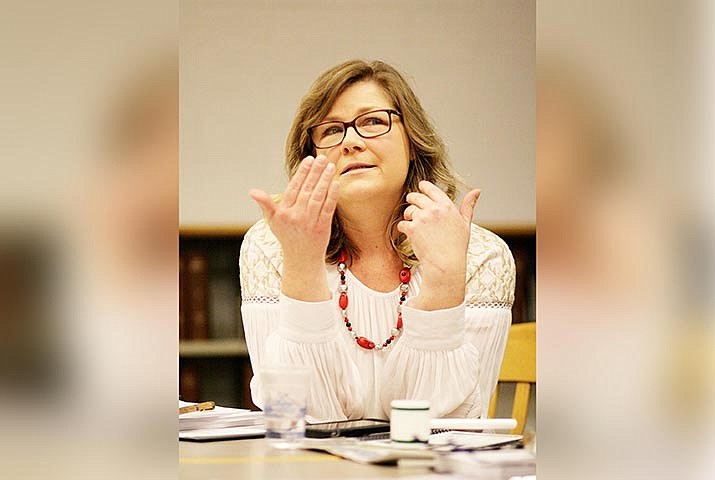 At first, Lori Drake wasn't in favor of a pass/fail grade option. However, the Mingus Union School Board member voted to support the district's recommendation to offer the option for students in the second semester of the 2020-2021 school year. VVN/Bill Helm