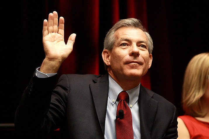 The White House began its pitch Monday for President Joe Biden's $2 trillion infrastructure proposal by spelling out constructions needs in all 50 states, including Arizona which got a grade of C on a recent infrastructure report card. But Rep. David Schweikert, R-Fountain Hills, criticized the amount of new taxes in the plan in a tweet last week. (Photo by Gage Skidmore)