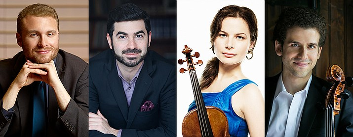 Chamber Music Sedona will present a series of concerts from May 1-8 as part of its Spring Festival.