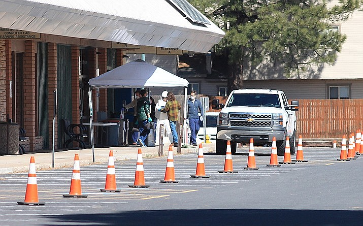 COVID-19 cases have increased slightly during March, however, Arizona Department of Health Services says the increase is not a cause for panic. (Loretta McKenney/WGCN)