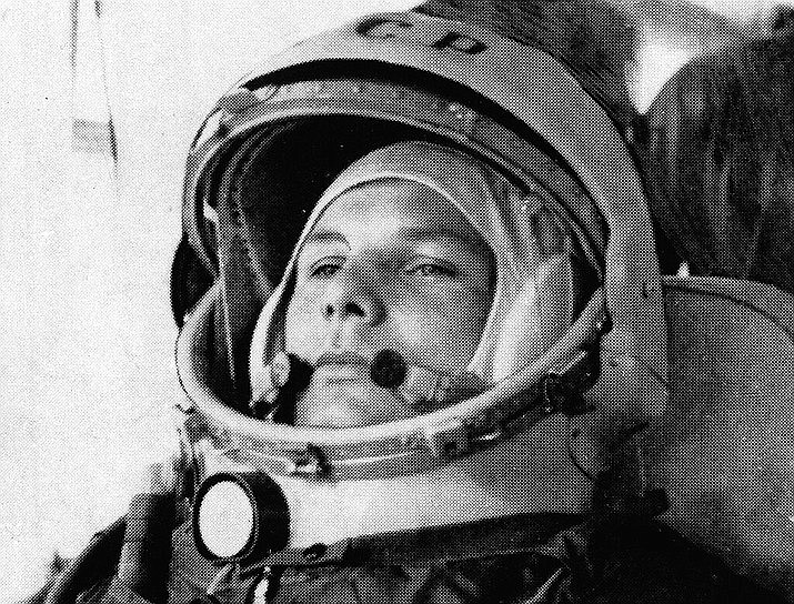 In this undated file photo, Soviet cosmonaut Major Yuri Gagarin, first man to orbit the earth, is shown in his space suit. Soviet cosmonaut Yuri Gagarin became the first human in space 60 years ago. The successful one-orbit flight on April 12, 1961 made the 27-year-old Gagarin a national hero and cemented Soviet supremacy in space until the United States put a man on the moon more than eight years later. (AP Photo/File)