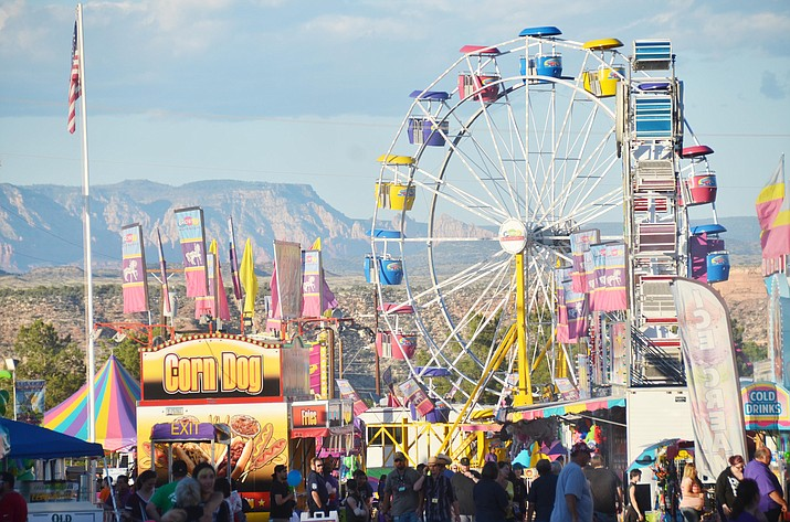 This year's Verde Valley Fair is April 28-May 2, after having only an online livestock auction last year. VVN file photo/Vyto Starinskas