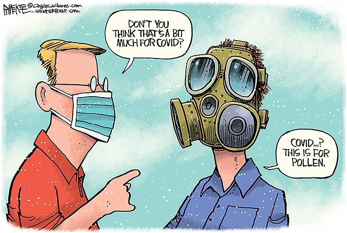Editorial Cartoon   April 16, 2021