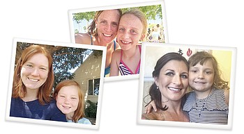 Enter the mother-daughter look-alike contest, deadline 5 p.m. Monday, May 3 photo