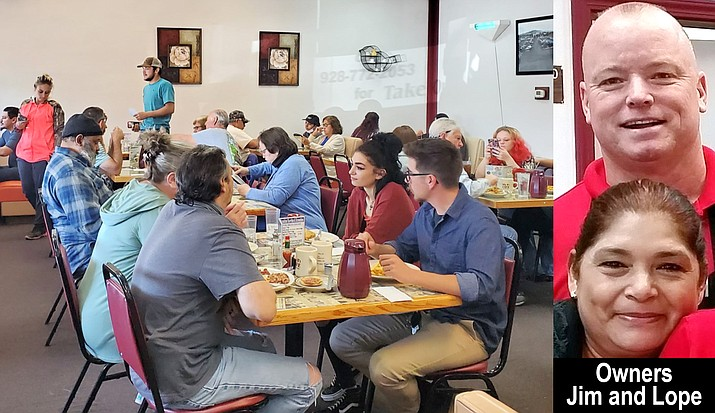 """Sally B's Café is a full service """"Mom & Pop"""" restaurant locally owned and operated by the Roy Family since 2007. (Courtesy)"""