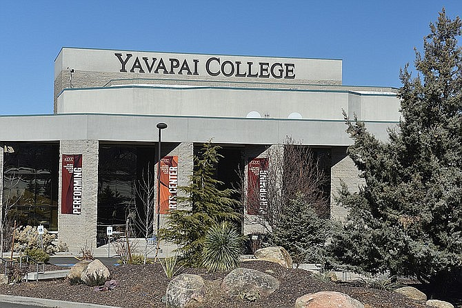 Yavapai College, pictured on Feb. 24, 2021, plans to move to the green phase of its five-phase re-entry plan for the summer and fall semesters, which will bring back more in-person classes and services. (Jesse Bertel/Courier)