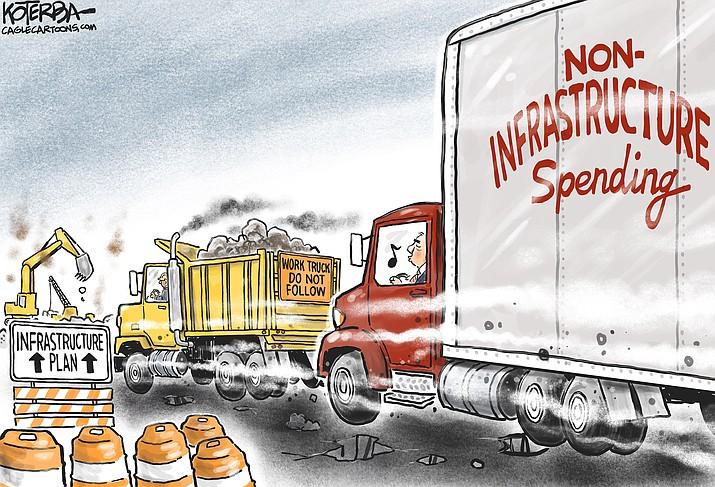 Editorial cartoon (1): April 19, 2021