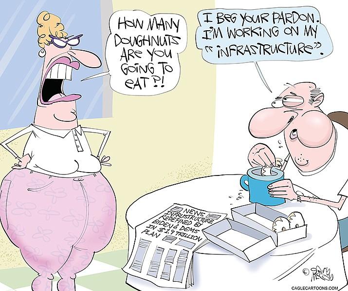 Editorial Cartoon | April 18, 2021