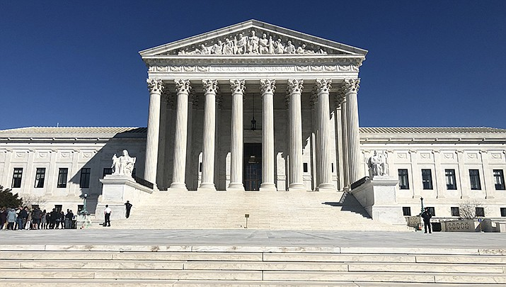 The U.S. Supreme Court will hear a case to determine who is eligible to receive virus relief funding set aside for Native American tribes. (Photo by Marielam1, cc-by-sa-4.0, https://bit.ly/3mVUgr6)
