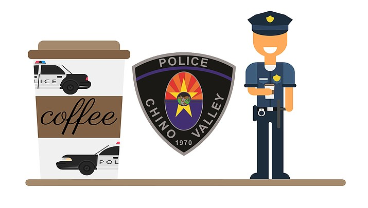 The Chino Valley Police Department will be bringing back its Coffee with Cops event, starting on Wednesday, April 28, from 8 to 9 a.m. (Review illustration)